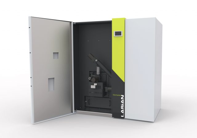 Lasian. Caldera biomasa Biomaster.